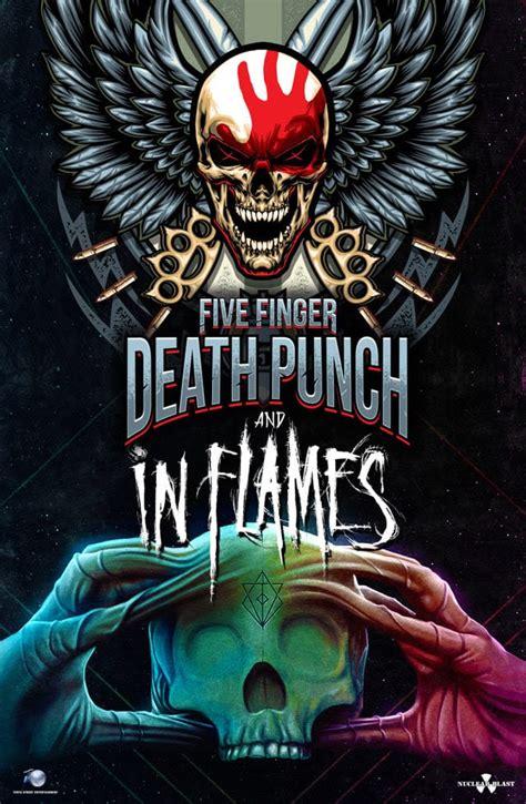 five finger death punch tour uk europe uk news in flames five finger death punch tour