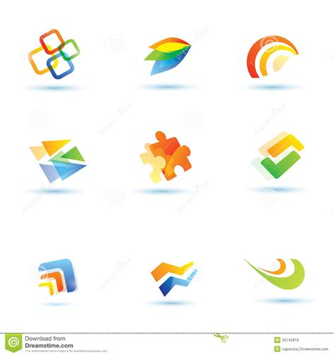 abstract icon stock image image 35579161 abstract icons set stock vector illustration of circles