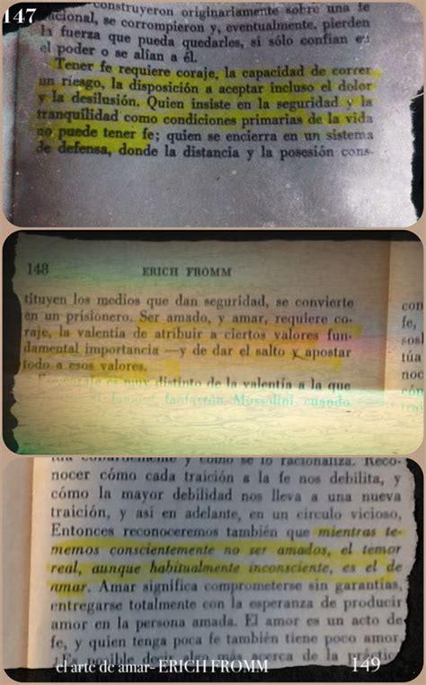 erich fromm el arte de amar libros frases temas pinterest
