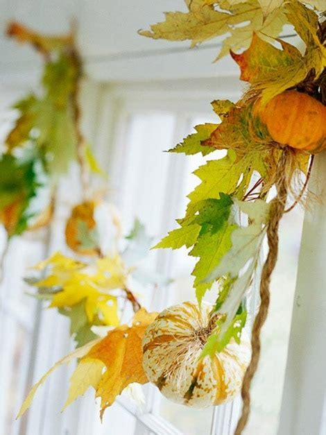 Autumn Garland Decorations by 15 Fall Garland Ideas Diy Decor