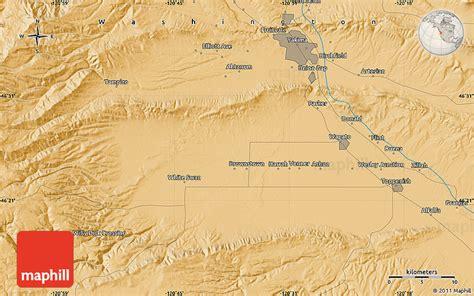 map usa yakima political map of yakima