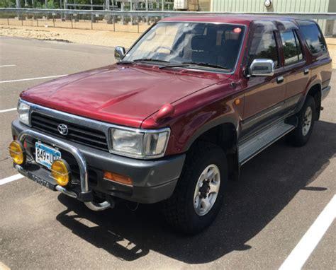 toyota hilux surf turbo diesel 1991 toyota hilux surf ssr x 4x4 turbo diesel 4runner