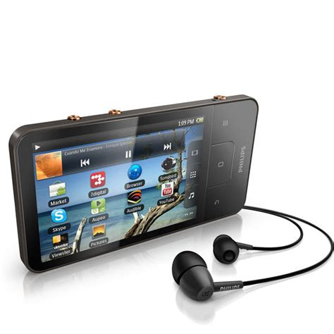 audio player android philips gogear 8gb connect 3 mini tablet with android 2 3 and wi fi computing zavvi