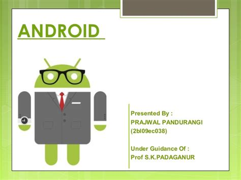 Android Powerpoint Template android ppt