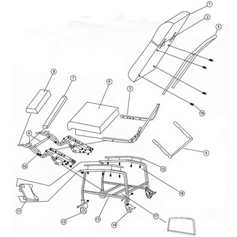 Lazy Boy Recliner Parts List by Drive Recliner Frame For D574 Recliner
