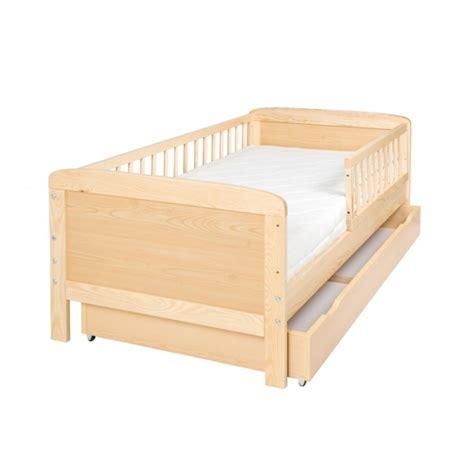 lit junior 160 cm x 70 cm en pin massif avec barri 232 res