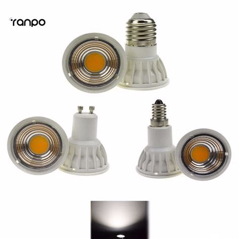Lu Led Semny 15 W bright 15w dimmable led cob spotlight e14 ses e27 es gu10 bulb l light ac 220v replace