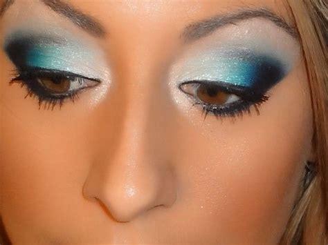 tutorial makeup jafra bluetiful makeup tutorial gel liner teal colors and latte
