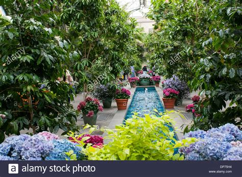 inside the united states botanic garden in washington dc