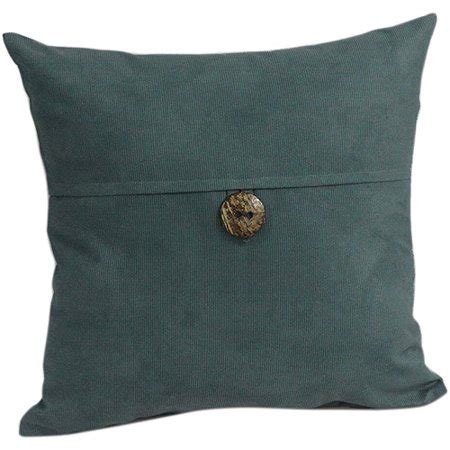 decorative buttons for pillows mainstays envelope cord with button decorative pillow