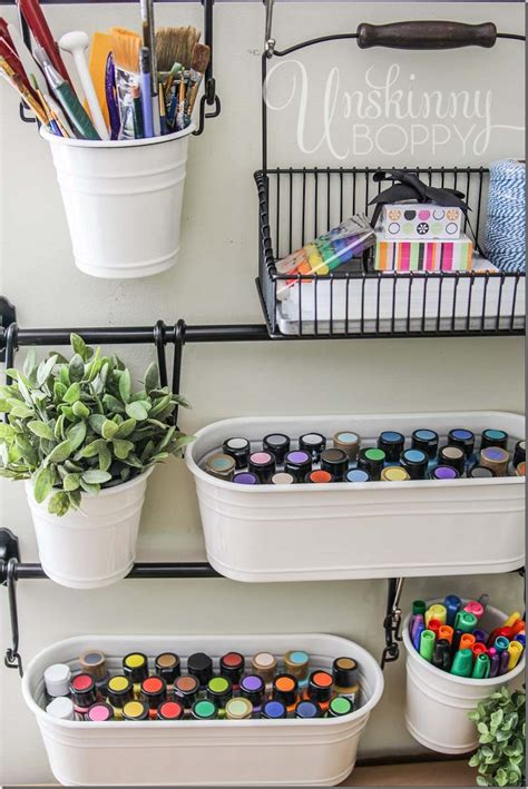 Craft Desk Organization Ideas Craft Room Organization And Storage Ideas The Idea Room