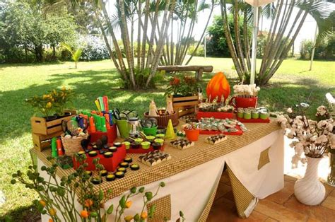 outdoor party ideas kara s party ideas outdoor adventure themed birthday party