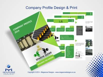 megazone designs printing, website & graphic design