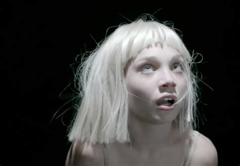 Chandelier Sia Dancer Sia S Big Cry Features Dancer Maddie Ziegler
