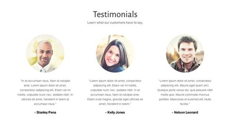Website Homepage Design by Use Testimonials To Create Trust On Your Daycare Website