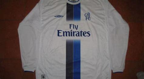 Jersey Classic Arsenal 2004 02biru 20 jersey terbaik sepanjang masa premier league