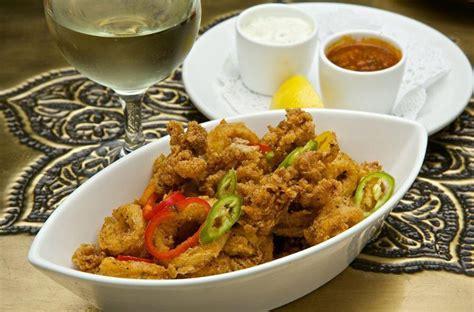fried calamari salad order online mediterranean a peek at the menu of spice road table at epcot