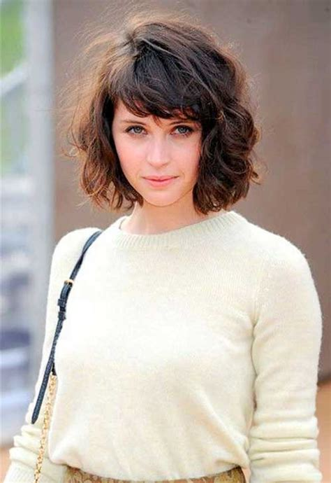 haircuts for curly hair short with bangs 20 short curly hairstyles with bangs short hairstyles