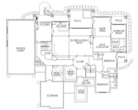 basketball court floor plan house plans with indoor basketball court how to costs
