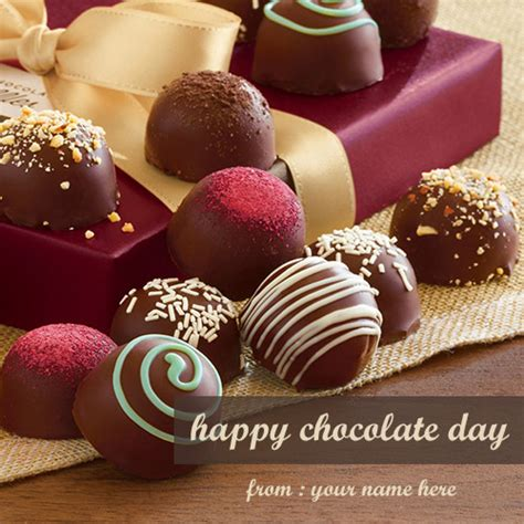 happy chocolate day  wishes  cards
