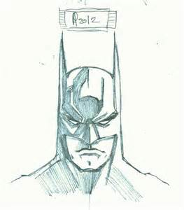 How To Draw For Batman Sketch By Sgobbia On Deviantart