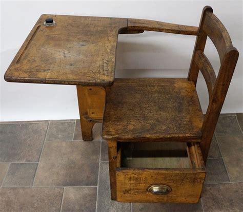 Wooden School Desks by Antique Wooden School Desk