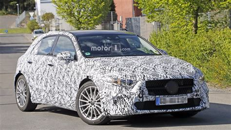 2019 a class 2019 mercedes a class new photos from the nurburgring