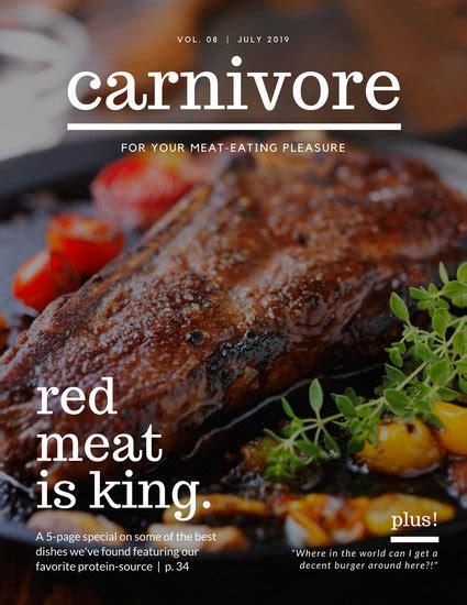 customize  magazine cover templates  canva