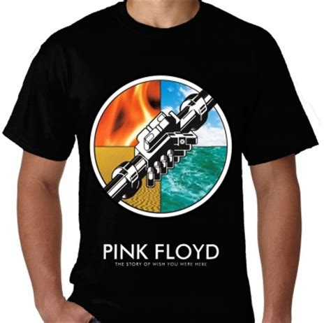 Kaos Wish You Were Putih Kaos Pink Floyd Wish You Were Here 2 Kaos Premium