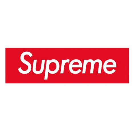 Supreme Logo Sticker supreme box logo sticker vinyl decal skateboard