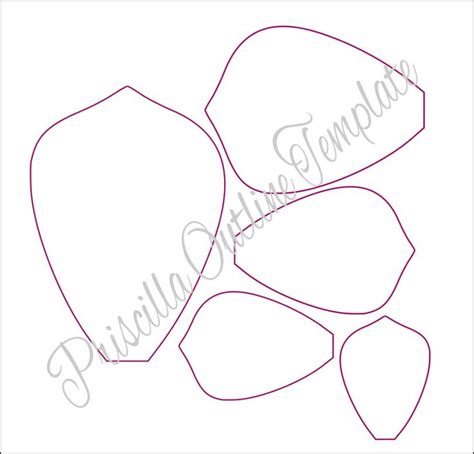 flower templates for paper flowers paper flowers paper flower templates