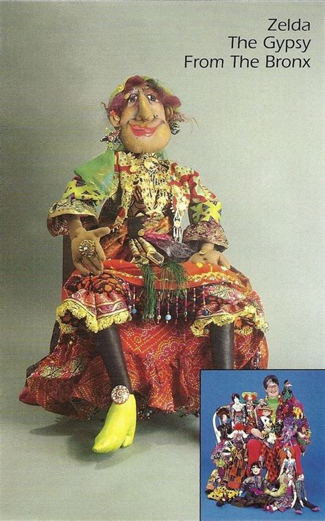 pattern for art doll new cloth art doll pattern quot zelda the gypsy from the bronx quot