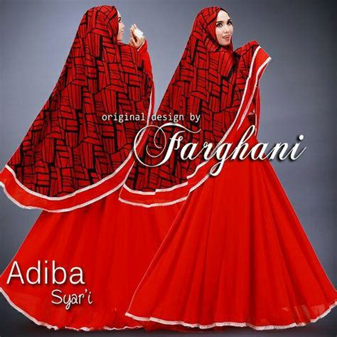 Baju Gamis Raisya White adiba 2 baju muslim gamis modern