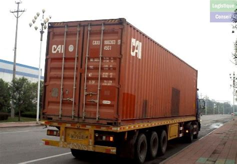 camion porte conteneur camion porte conteneur photos de transport logistique