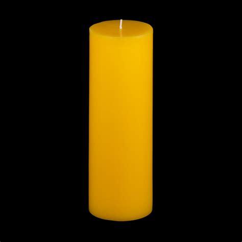 Yellow Candles 3x9 Yellow Pillar Candle