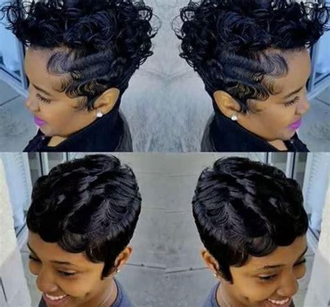 short ocean wave hairstyles ideas finger wave hairstyles for black women best