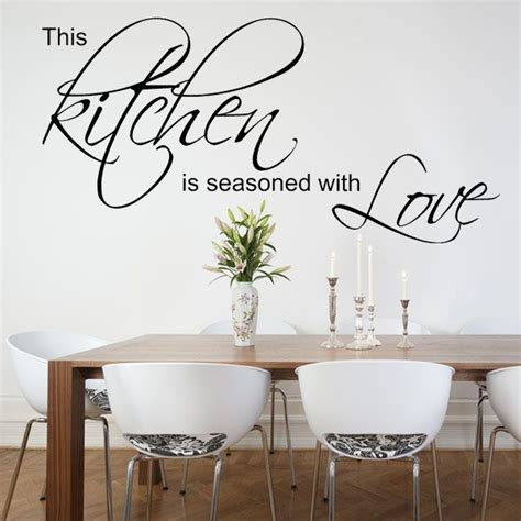 kitchen wall decals this kitchen is seasoned with wall sticker decals