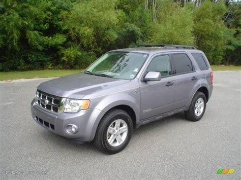 ford escape grey 2008 tungsten grey metallic ford escape hybrid 18171639