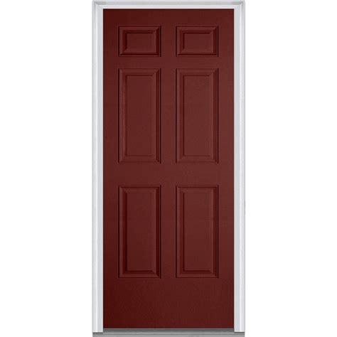Mmi Door 30 In X 80 In Right Hand Inswing 6 Panel 30x80 Exterior Door