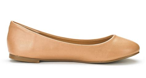 walking flats comfort sole simple new women classic solid plain design comfort
