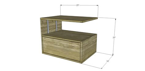 free woodworking plans end table free diy woodworking plans to build a leroy end table