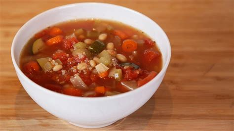 minestrone soup slow cooker meals youtube