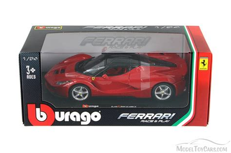 toy ferrari model cars ferrari race and play laferrari red bburago 26001 1