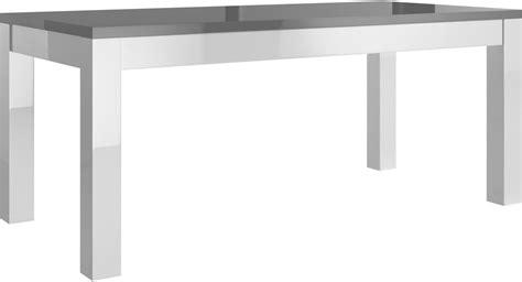 Attrayant Mobilier De France Table Salle A Manger #1: table-salle-a-manger-160cm-blanc-et-gris-laque-30.jpg