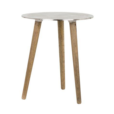 table 3 legs with aluminium top