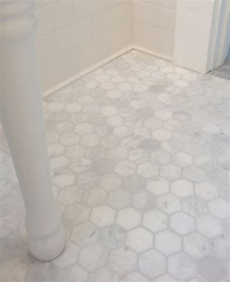 bathroom floor tile tile baseboard bath gets a classic redo 1920s style this old 1920s bathroom tile floor