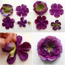 how to make a fabric flower brooch via make