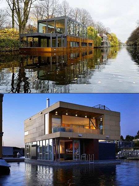 12 Cool And Creative Houseboats That Think Outside The Box Techeblog