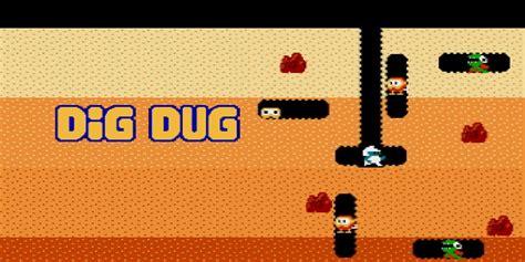 Dig Dig dig dug nes juegos nintendo