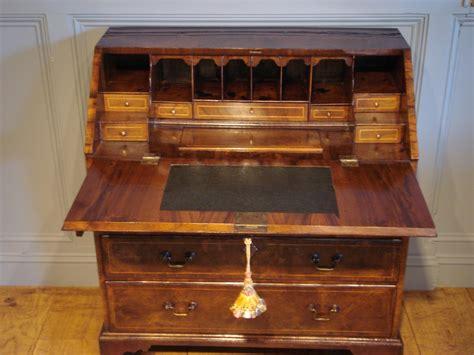 soldth century walnut bureau antique sold gallery